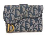 クリスチャンディオール/トロッター 三つ折り財布