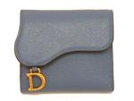 ディオール/サドル Dチャーム 三つ折り財布