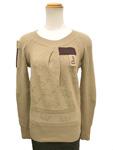 クリスチャンディオール/ロゴ編みニットセーター