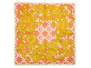 シルクスカーフ【CCロゴ柄】【SALE】