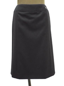 ウール×カシミヤ セミタイトスカート
