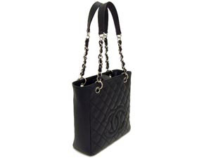 シャネル/シャネルのバッグ、シャネルの財布/シャネル/キャビアスキン スクエアチェーンショルダー