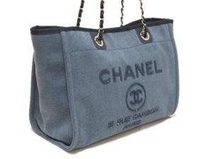 b5a508b110e0 ... シャネル/シャネルのバッグ、シャネルの財布/シャネル/スパンコール ロゴ ドーヴィル トート