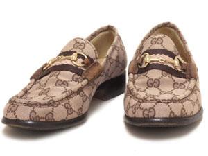 sports shoes 3eb68 9729e グッチ/GGキャンバス ビットローファー/スモーキーピンク ...