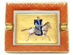 エルメス/アシュトレイ 乗馬柄 灰皿