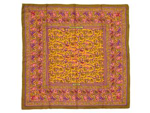 カレ90 スカーフ 【CHASSE EN INDE (インドの狩猟)】