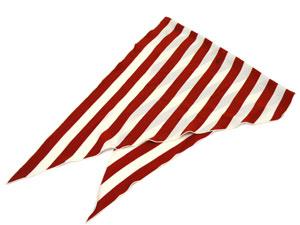 ひし形スカーフ ロザンジュ 【ストライプ柄】【値下げ】