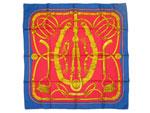 エルメス/カレ90 スカーフ 【Gaucho par Hermes Paris(装飾馬具柄)】【SALE】