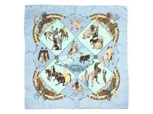 カレ90 スカーフ 【Musee Vivant du Cheval Chantilly (シャンティイ城馬の博物館)】