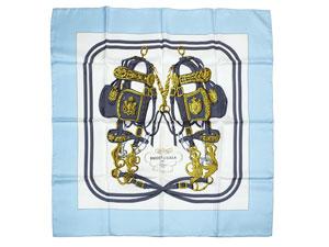 カレ90 スカーフ 【BRIDES DE GALA(式典用馬勒)】