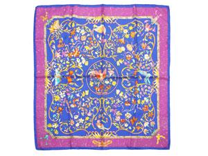カレ90 スカーフ【PIERRES d' ORIENT et d' OCCIDENT(東洋の石と西洋の石細工)】
