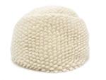 エルメス/カシミヤブークレニット帽