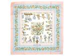 エルメス/カレ90 スカーフ 【Les Jardiniers du Roy (庭師のロイ)】【SALE】