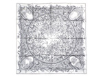 エルメス/カレ90 スカーフ 【JARDINS DES METAMORPHOSE (メタモルフォーゼの庭)】