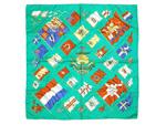 エルメス/カレ90 スカーフ 【PAVOIS(船旗)】