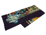 エルメス/カレ140 カシミヤ&シルクショール 【Au FIL de la SOIE (絹糸の赴くままに)】