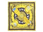 エルメス/カレ90 スカーフ 【CASQUES et PLUMETS(兜と羽根飾り)】【SALE】