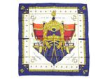 エルメス/カレ90 スカーフ 【VUE DU CARROSSE DE LA GALERE LA REALE (クイーンの戴冠式)】【SALE】