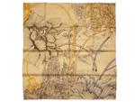 エルメス/カレ90 スカーフ 【A l Ombre des Pivoines (ピヴォワンヌの影)】 新作