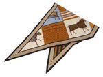 エルメス/ロザンジュ MM カシミヤシルク 【Couvertures Nouvelles (新・馬着)】【SALE】