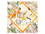 エルメス/新作 カレ90 スカーフ 【Les Artisans d Hermes】