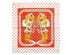 エルメス/カレ90 スカーフ 【Brides de Gala Love (ブリッド・ドゥ・ガラ・ラヴ)】
