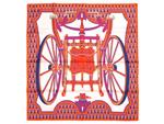 エルメス/新作 カレ90 スカーフ 【Les Roues de Phaeton (四輪馬車の車輪)】