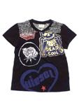 ディーゼル/チュールレース 半袖Tシャツ キッズ