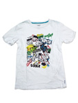 アルマーニ ジュニア/コットンTシャツ 【アルファベット】