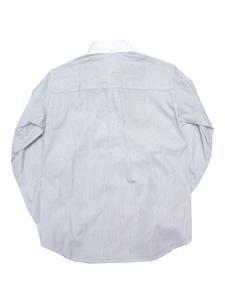 d45016e1d46cc バーバリー ロンドン キッズ ボタンダウンシャツ 白×ネイビー ブランド ...