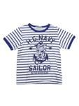 ヒステリックミニ/H.G.NAVY ボーダーTシャツ