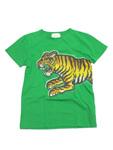グッチ/キッズ タイガープリントTシャツ
