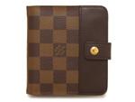 ルイヴィトン/コンパクトジップ 折り財布