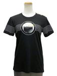 ルイヴィトン/ショルダーボタン プリントTシャツ