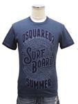 ディースクエアード/メンズ プリントTシャツ 【SURF BOARD】