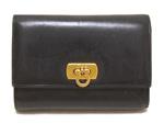 フェラガモ/パスケース付き 三つ折り財布