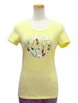 アルマーニ ジーンズ/ラインストーンロゴTシャツ