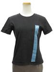 アルマーニ エクスチェンジ/ロゴライン コットンTシャツ