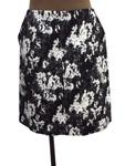 ポール カ/花柄台形スカート