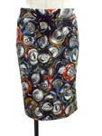 モスキーノ クチュール/空き缶柄ストレッチスカート