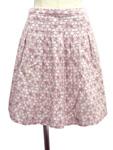トッカ/フラワーパンチング刺繍スカート