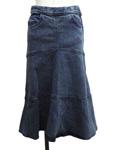 シーバイクロエ/デニムマーメイドスカート