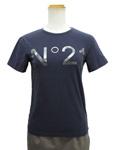 ヌメロヴェントゥーノ No.21/ロゴTシャツ