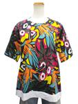 マルニ/花柄Tシャツ