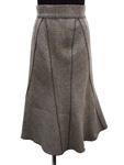 プラダ/ウールツイードスカート